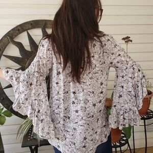 Fever Tops - Bell sleeves blouse